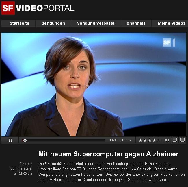 Videoportal of SF