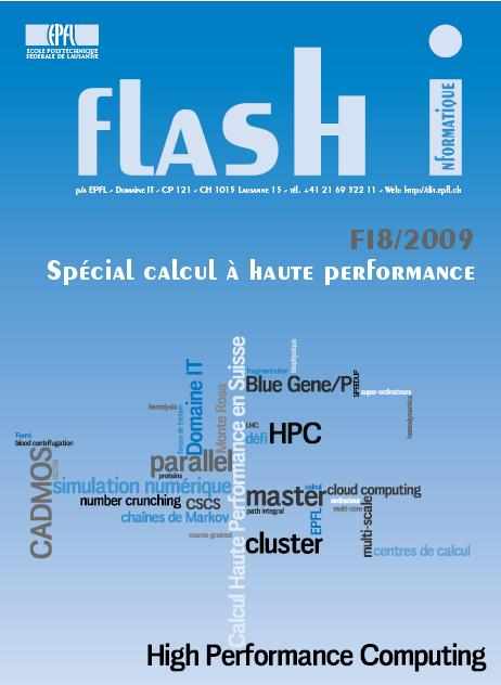 Flash-Informatique of EPF: Special number on HPC