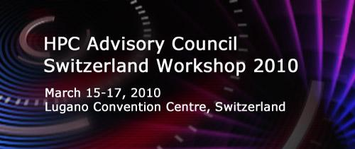 Call for Presentations & Participation: Infiniband Workshop – Lugano 2010
