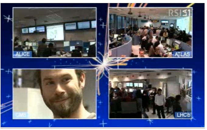 CERN Live Broadcast