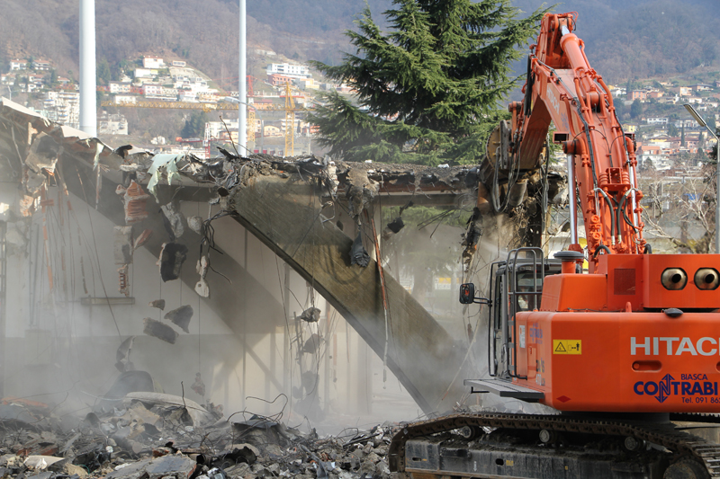 Getting Space for the New CSCS Building in Lugano
