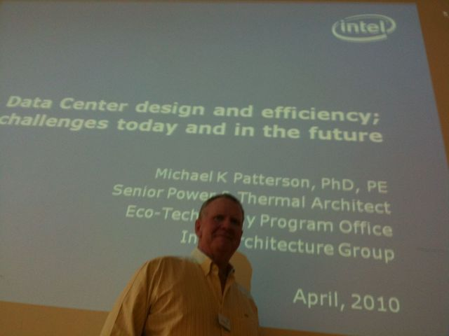 Mike Patterson: Be consequent in Addressing Energy Issues in Your Datacenter