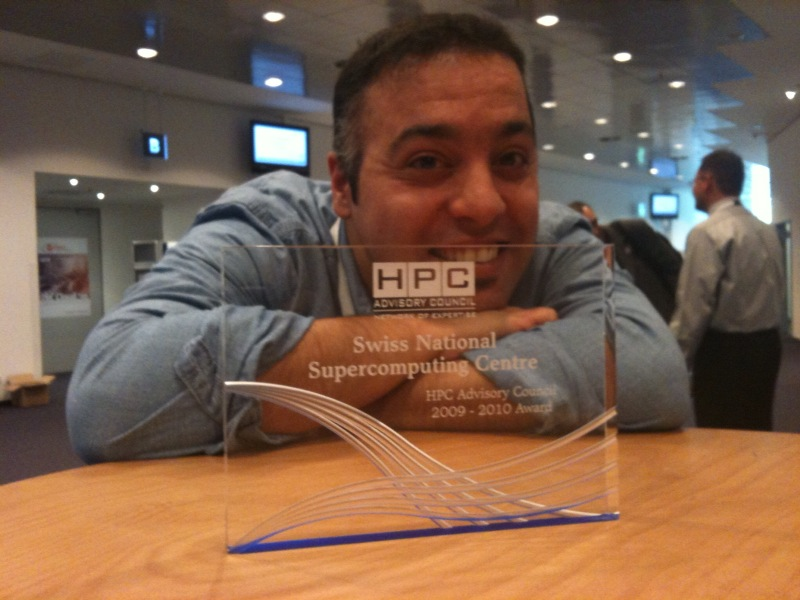 CSCS Awarded by HPC Advisory Council at ISC'10