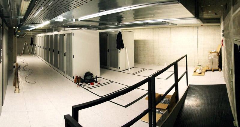 New Server Room for the Faculté des Sciences de base at EPFL