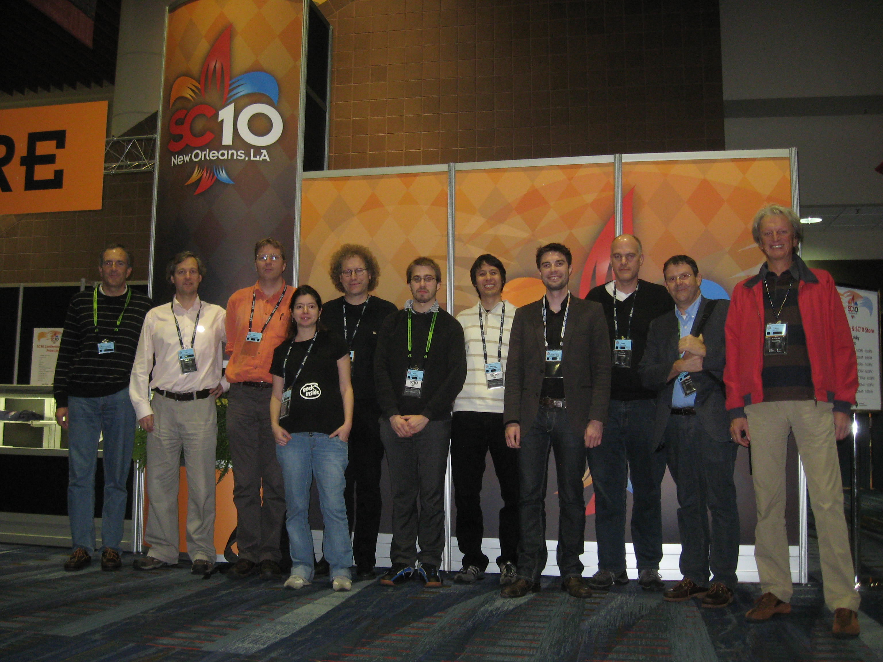 hpc-ch Delegation at SC10