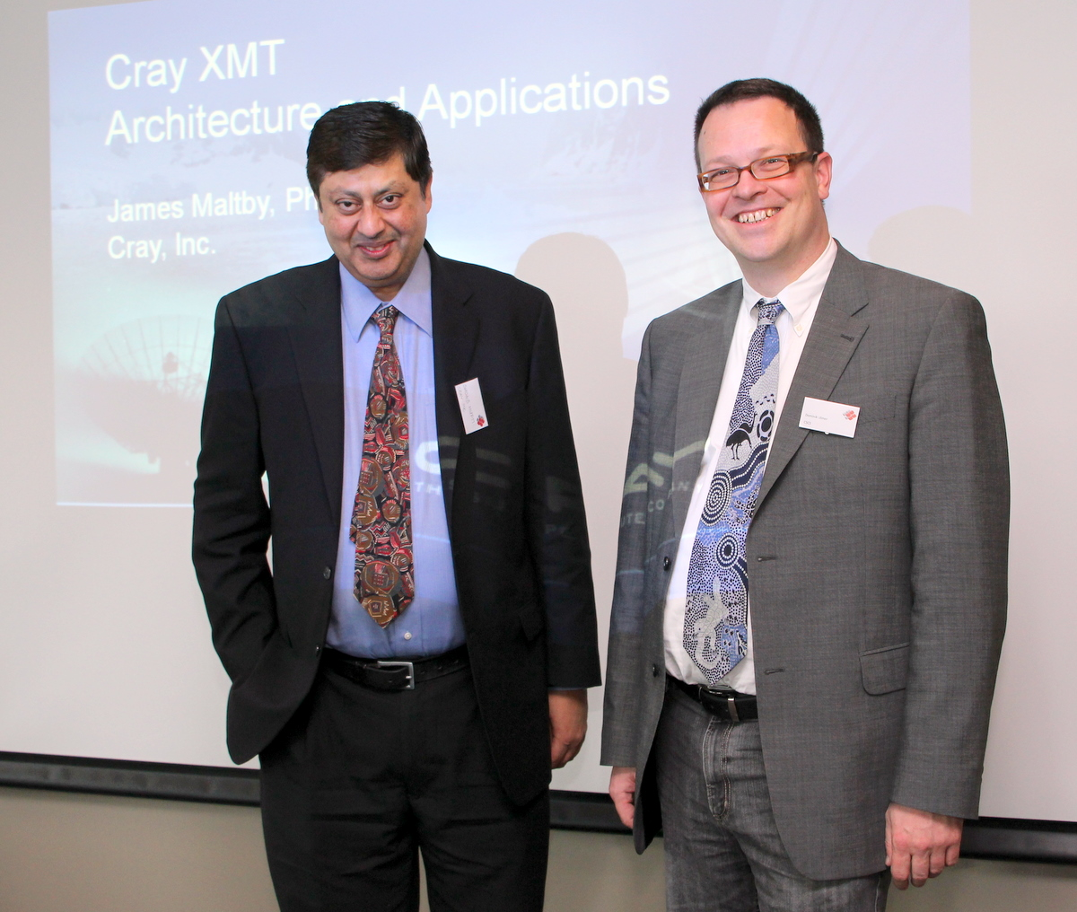 Mufti (Cray) and Ulmer (CSCS)