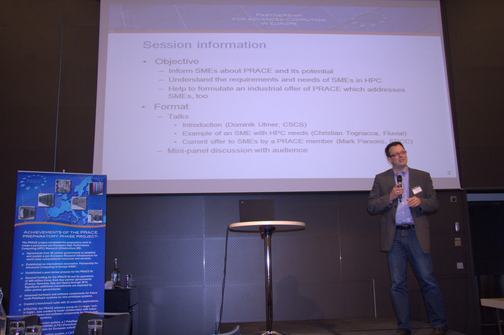 Conference Report: PRACE Executive Seminar on Industrial Usage of HPC Services