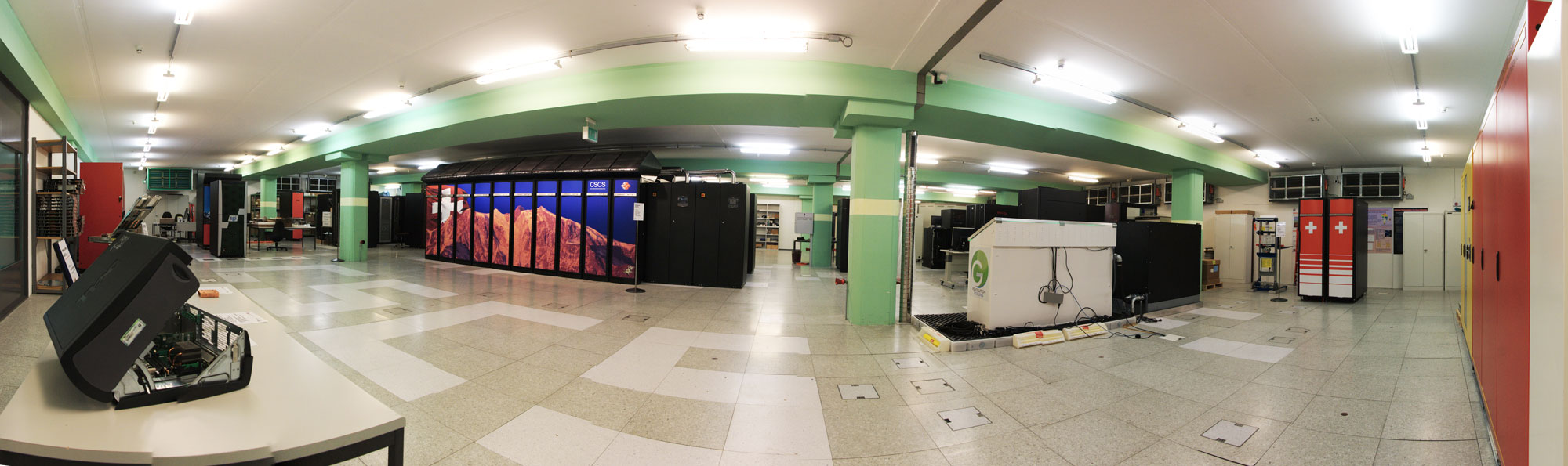 Panorama View of Computer Room at CSCS