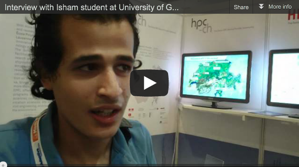 Interview with Isham – Student at Uni Geneva about hist interests in HPC