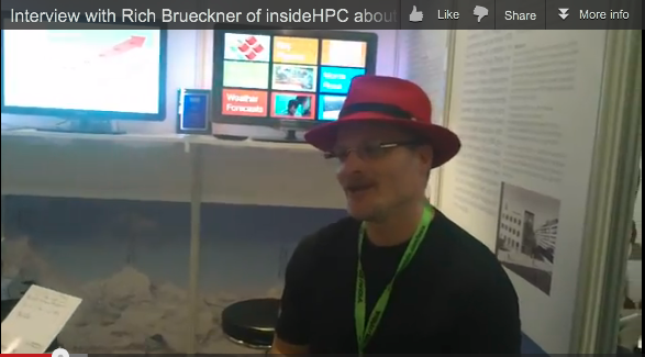 Interview with Rich Brueckner of insideHPC About HPC in Switzerland