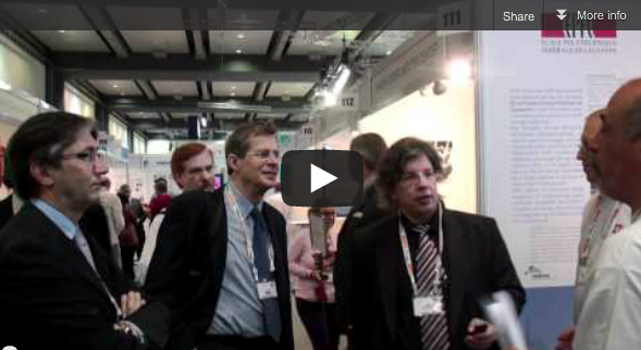 Fotogallery and Movie hpc-ch Booth at ISC11
