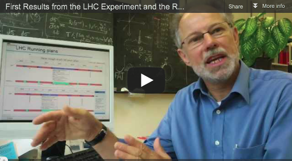 Interview with Christoph Grab – First Results from the LHC Experiment and the Role of HPC