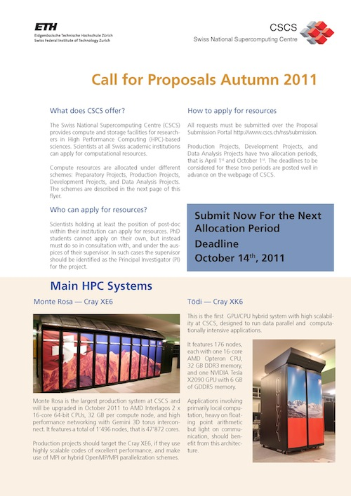 Flyer_CSCS_Call_Proposals_Autumn_2011_Page_1