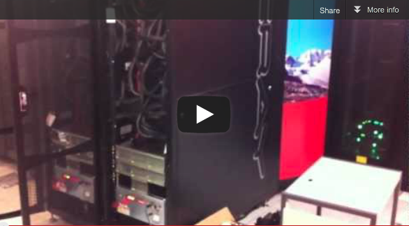 Video: First Cray XK6 Worldwide Just Powered Up at CSCS