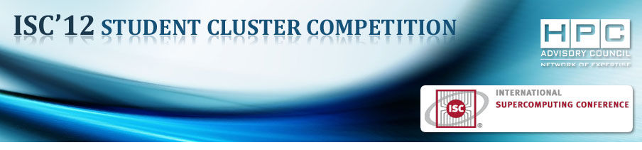 ISC12 student cluster competition