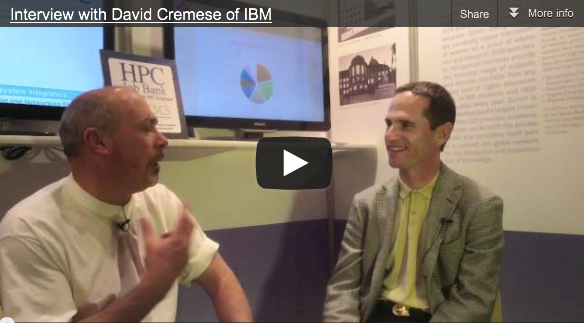 Interview at SC11 with David Cremese – IBM Deep Computing Sales Manager