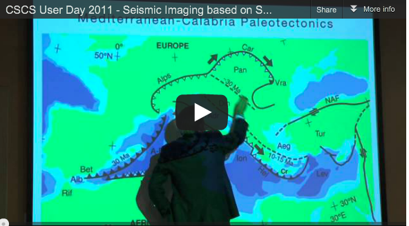 "CSCS User Day – Video ""Seismic Imaging based on Spectral-element and Adjoint Methods"" by Jeroen Tromp"