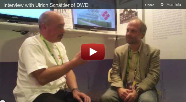 Interview at SC11 with Ulrich Schaettler of DWD