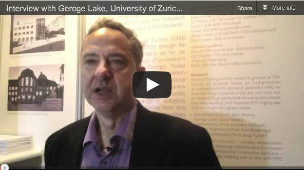 Interview with George Lake, University of Zurich about HPC, Astrophysics and Switzerland