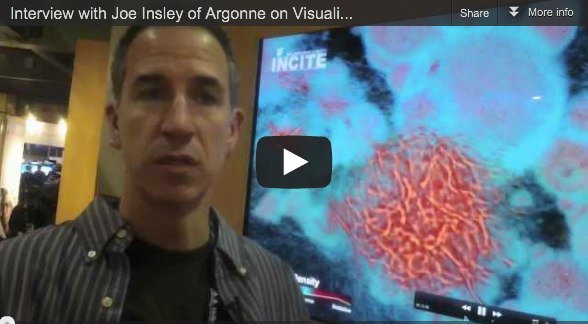 Interview with Joe Insley of Argonne on Visualizing the Spatial Structure of the Light Emitted in Early Galaxies