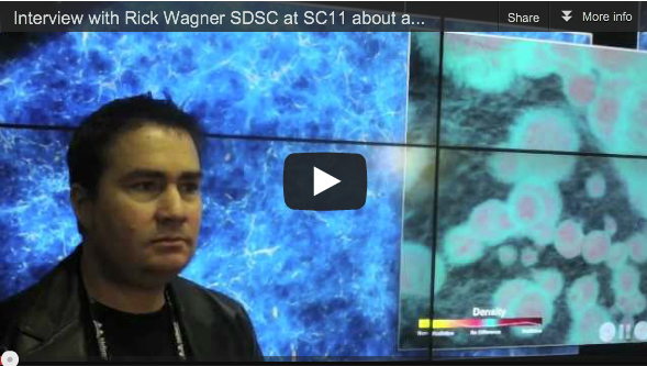 Interview with Rick Wagner SDSC – Simulation of the Formation of the First Galaxies