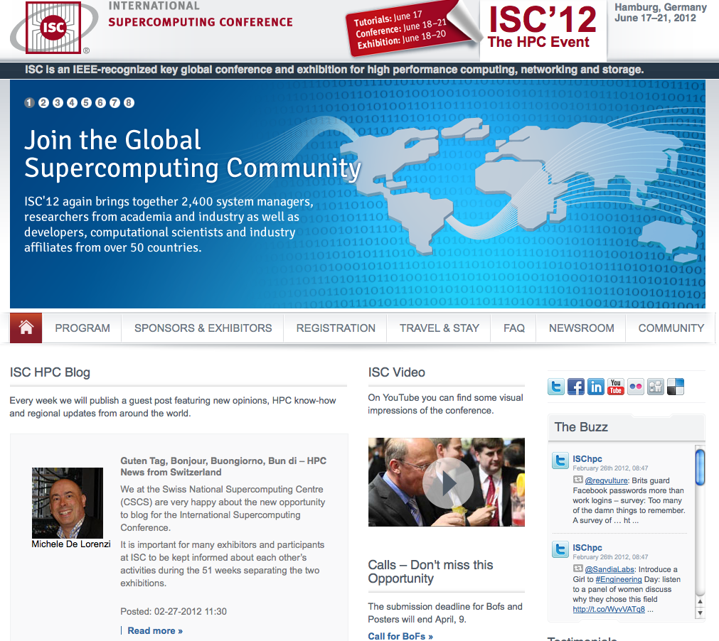 Guten Tag, Bonjour, Buongiorno, Bun di – HPC News from Switzerland on ISC HPC Blog