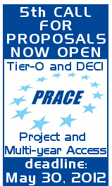 Call for proposals for 5th PRACE Project Access and Multi-year Access (Tier-0) and synchronized DECI-9 Call (Tier-1)