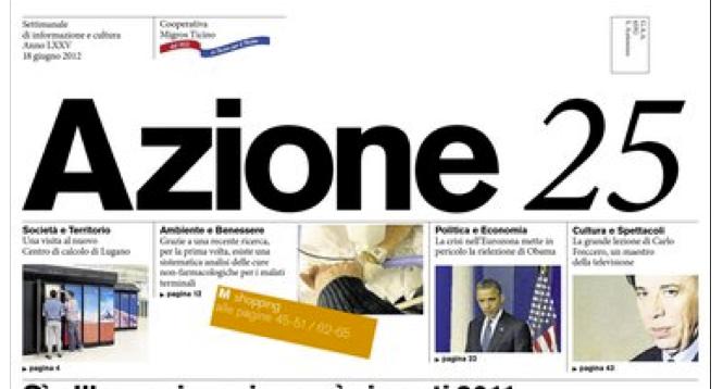 """Azione"" Newspaper Reports on CSCS"