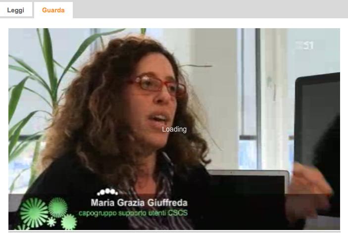 """""""Il Giardino di Albert"""" on LA1 reports on the CSCS """"Super""""relocation"""