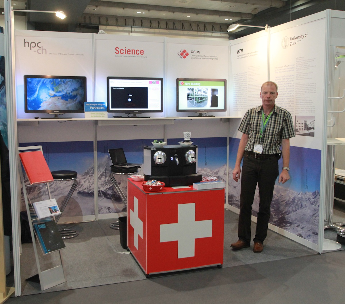 Visit hpc-ch at ISC12 at Booth Number 145