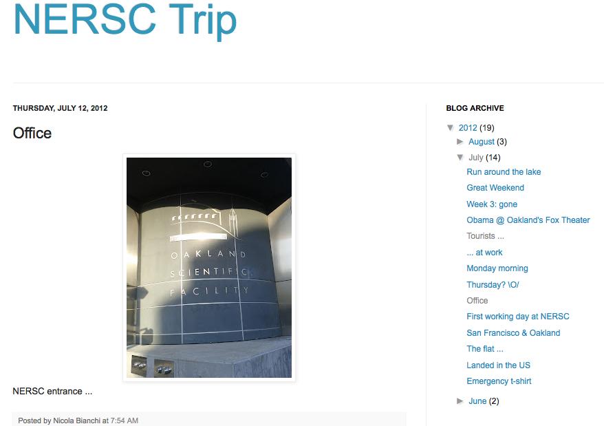 NERSC Blog