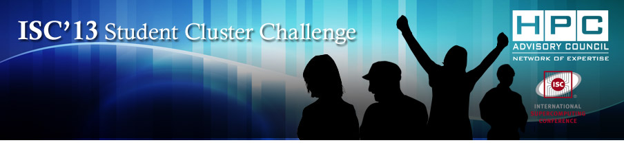 ISC'13 Student Cluster Challenge is Now Open