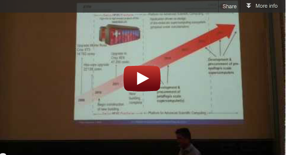 "Video from 41st SPEEDUP Workshop: Thomas Schulthess on ""The Swiss HPC strategy towards the Exascale Era"""