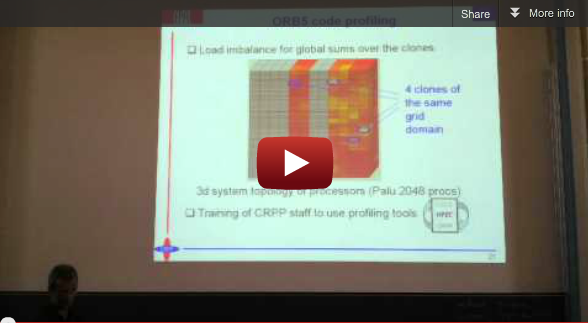 "Video from 41st SPEEDUP Workshop: Laurent Villard on ""Gyrokinetic simulations of turbulence in magnetic fusion plasmas"""