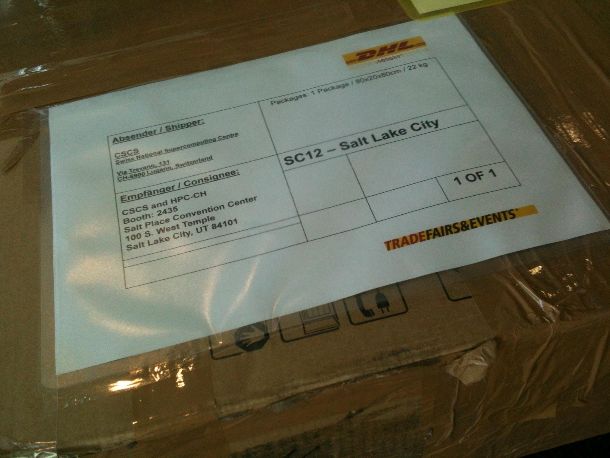 SC12 hpc-ch parcel detail