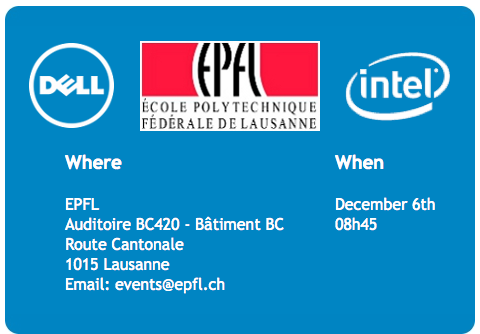 Bellatrix Day @EPFL: HPC benefits and critical aspects