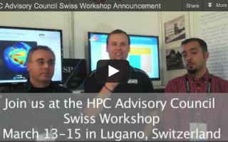 HPC Advisory Council 2013 Anouncement