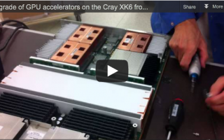Upgrade GPU Cray XK6