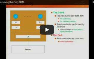 Cray XMT Programming