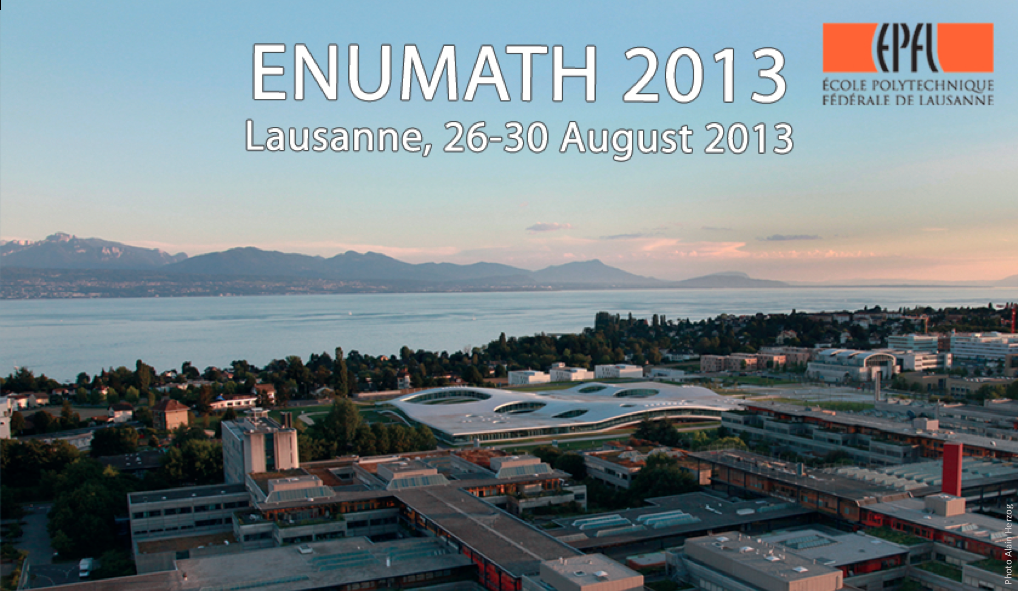 Abstract submission deadline: ENUMATH Conference 2013 at EPFL