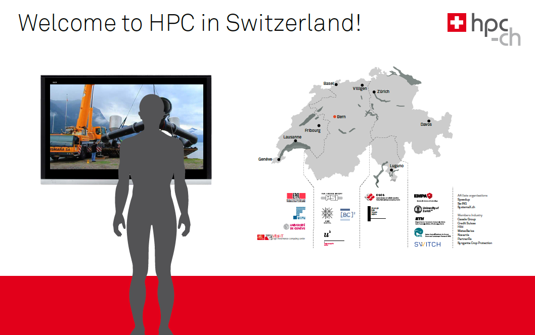 ISC13 is approaching: Outlook of the hpc-ch booth #747