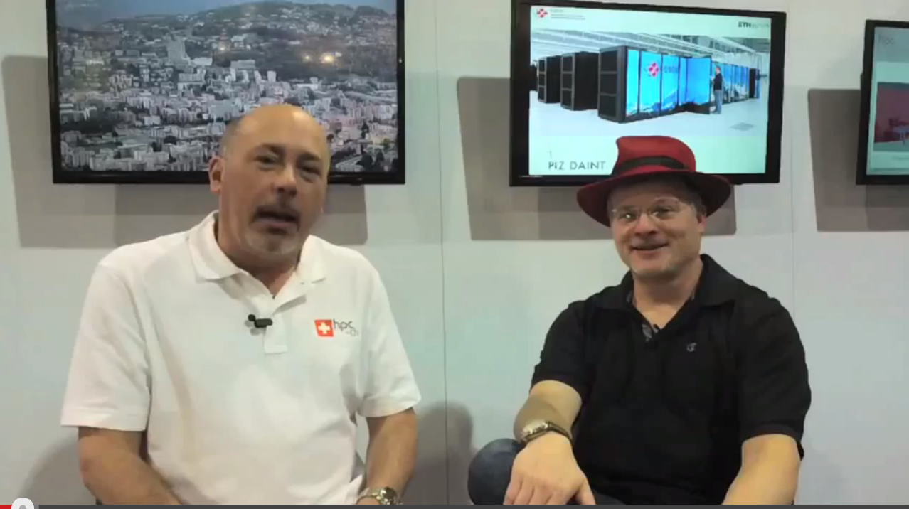 Interview with Rich Bruckner of insideHPC at Swiss booth @SC13