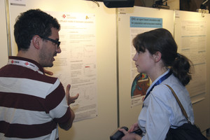 More than 80 posters were presented at the first PASC Conference.