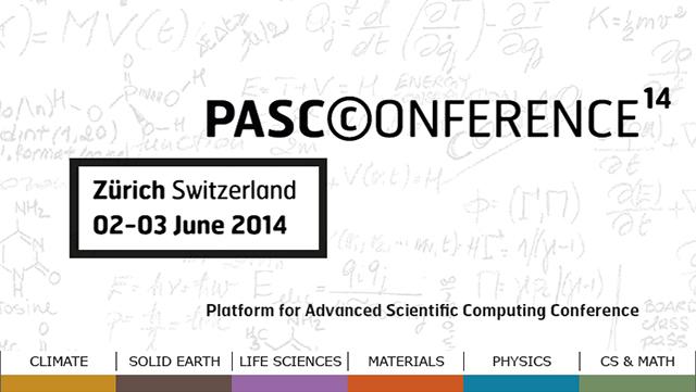 Scientific supercomputing in the spotlight @PASC14
