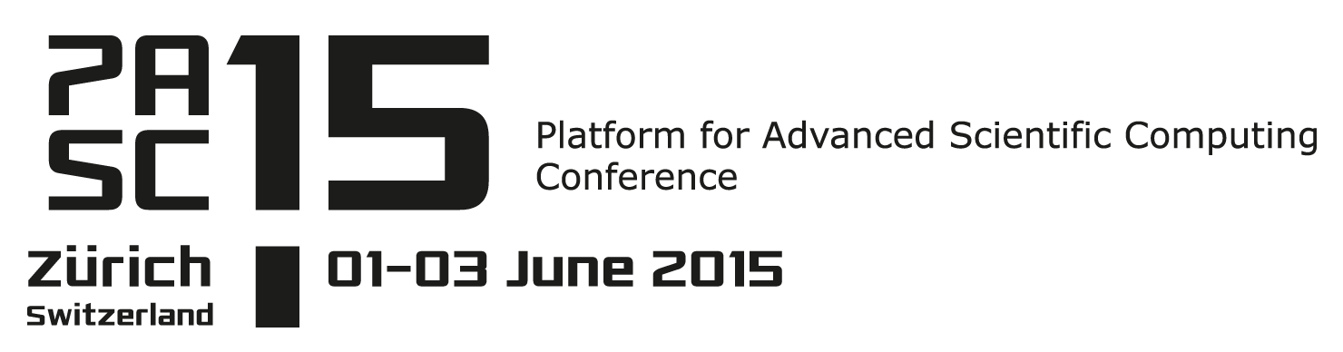 PASC15, 1-3 June 2015, Zurich