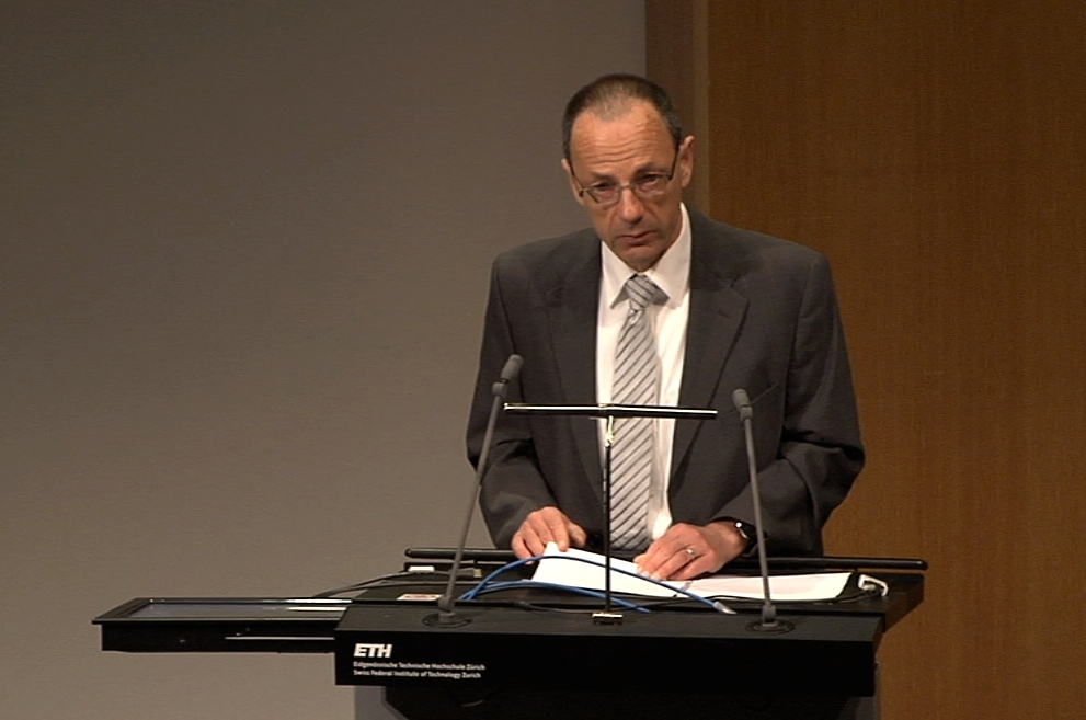 Video: Welcome to the PASC15 Conference, Lino Guzzella, President of ETH Zurich