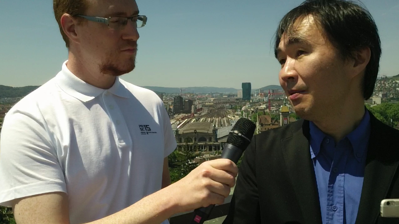 Interview with Satoshi Matsuoka after PASC15 Conference