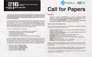 Poster ACM Call for Papers