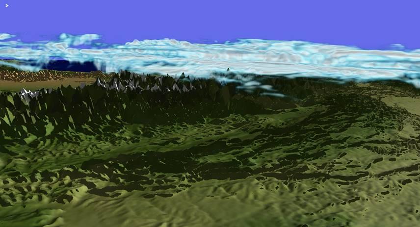 COSMO1 Simulation 1
