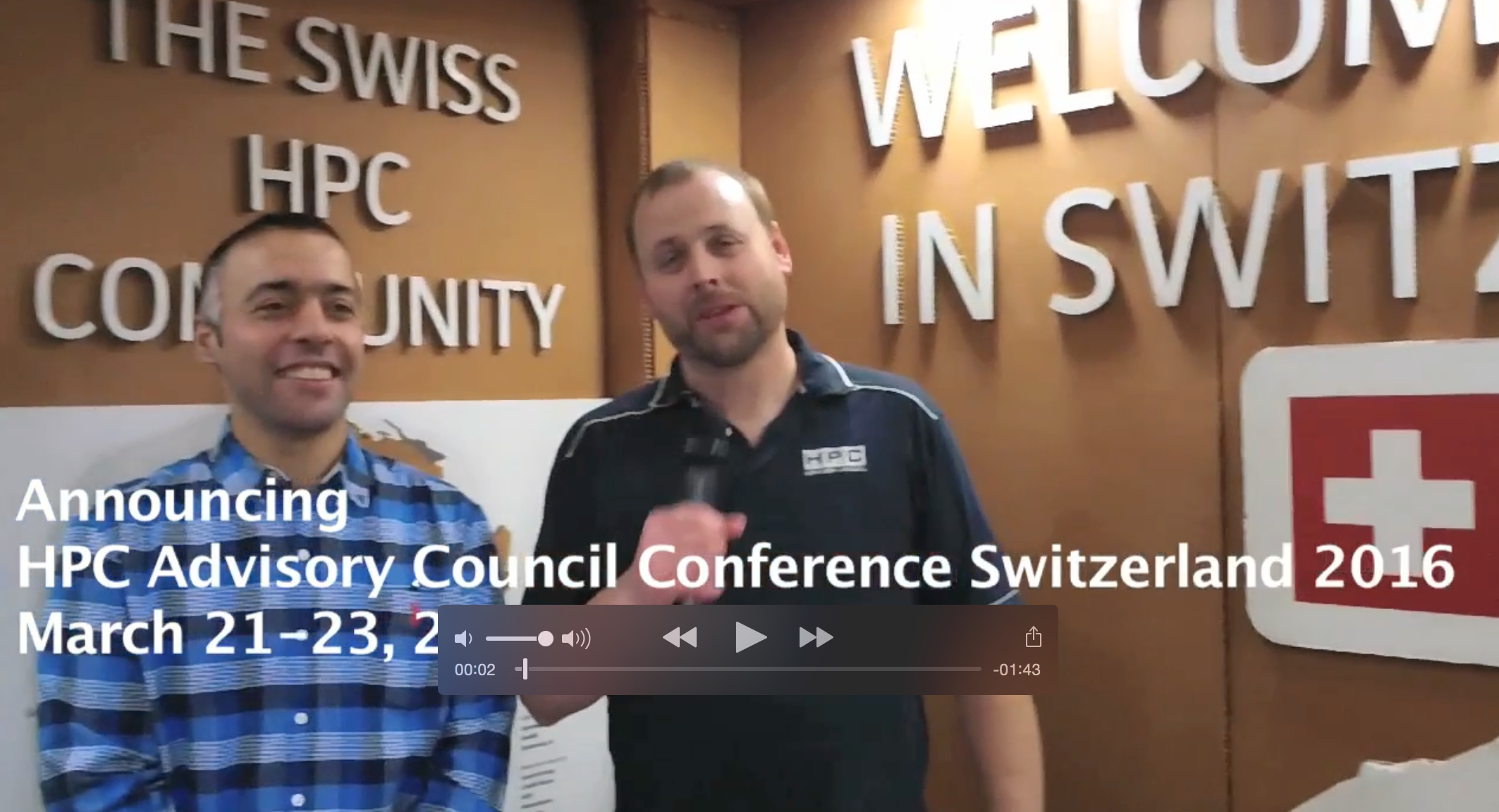 HPC Advisory Council and CSCS Announce Switzerland Conference 2016